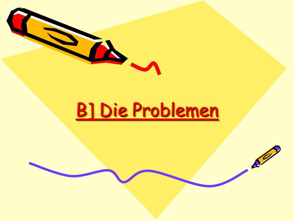 B] Die Problemen